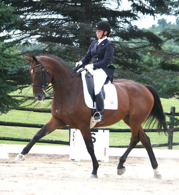 Christina Dube Dressage Queenswood Stables
